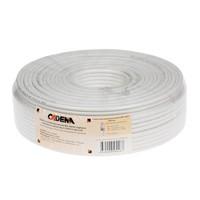Кабель коаксиальный RG-6SAT высокого качества CADENA белый